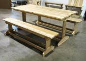 Trestle Style Picnic Table
